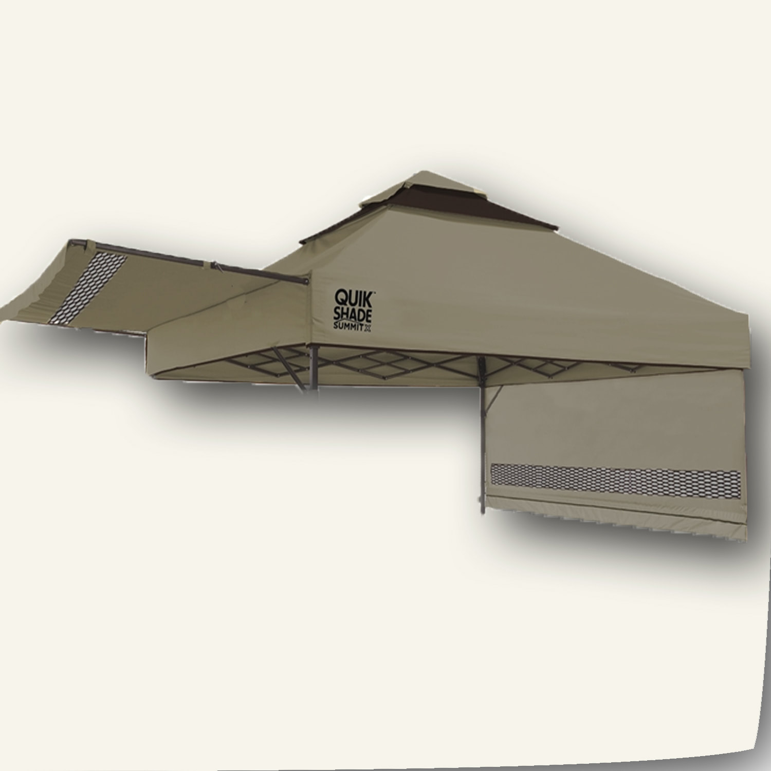 For Quik Shade Summit Sx170 Canopy Top With Awning With 2