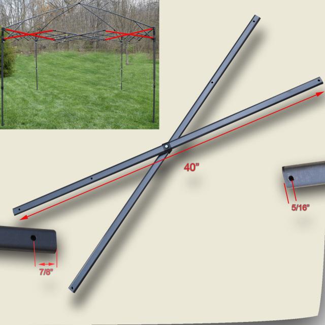 Quik Shade Summit Series 10 X 10 Canopy Side Truss Bar