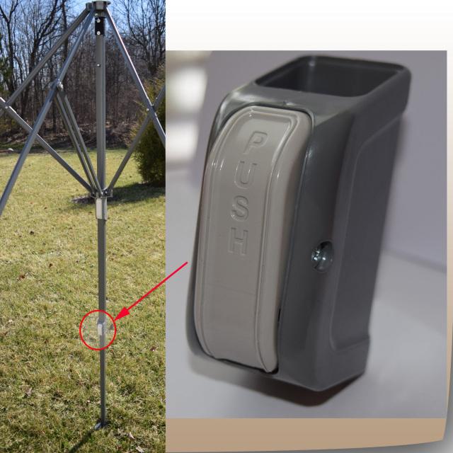 Ozark Trail Instant 12 X 12 Straight Leg Canopy Model