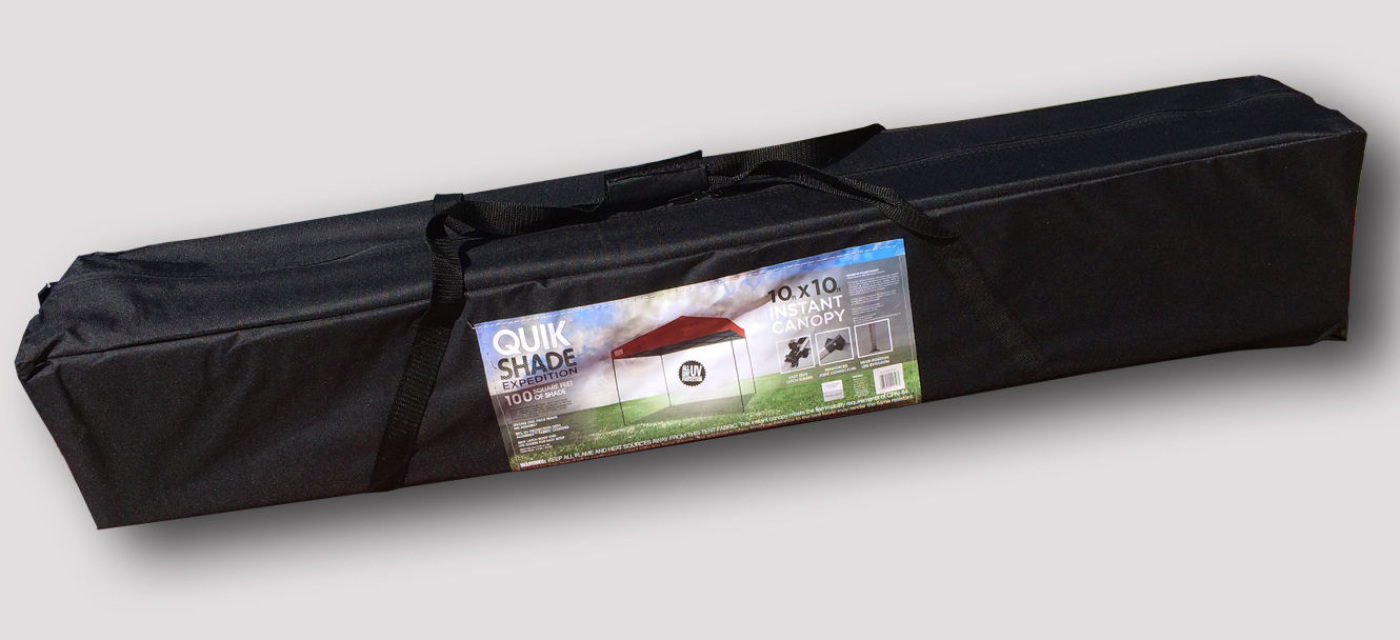 Quik Shade Expedition 10 X 10 Straight Leg Instant Canopy