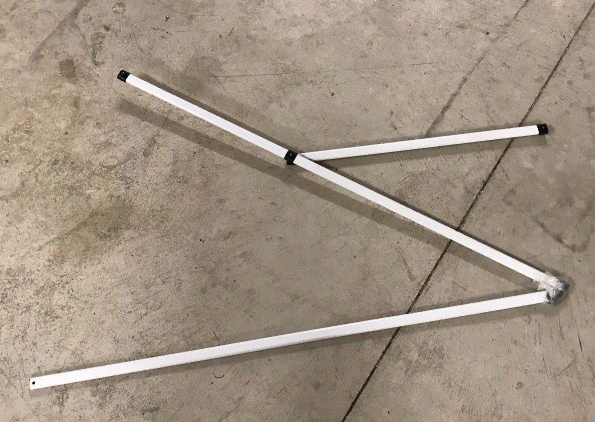 Quik Shade Commercial 10x10 Peak Truss Bar With Support