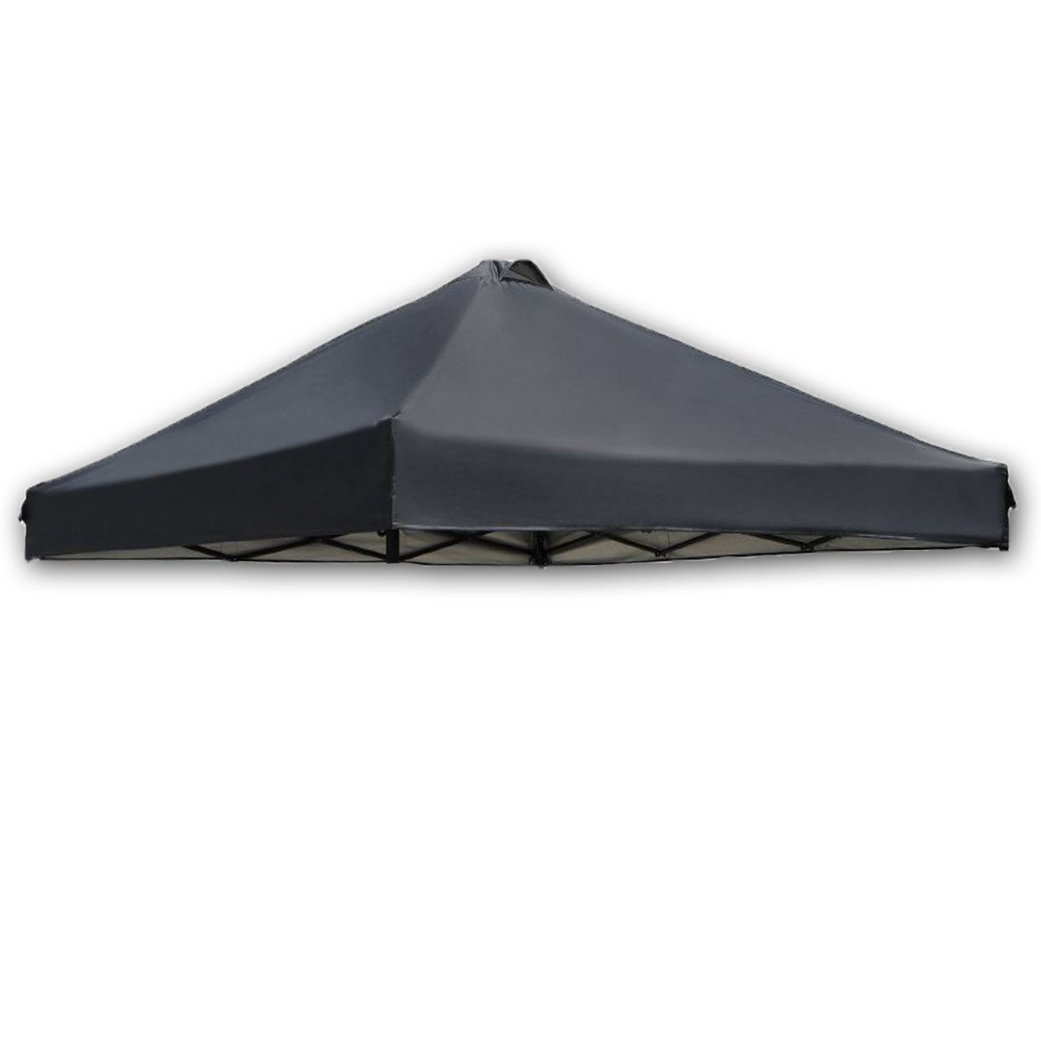 Canopy Top for Ozark Trail ABBA Coleman First Up 10 x 10 Tent Replacement  Black