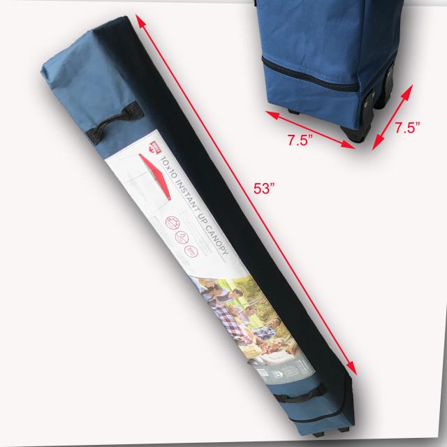 Carry Bag Wheeled 53 Quot For Quest Q64 10 X 10 Slant Leg