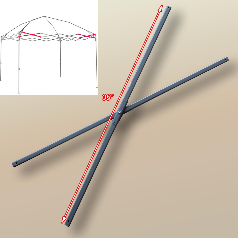 Coleman 12 X 12 Straight Leg Instant Canopy Gazebo Side