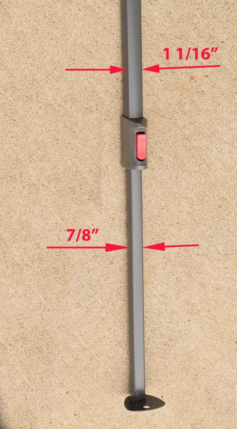 Coleman 10 X 1 0 Canopy Gazebo Extended Adjustable Leg