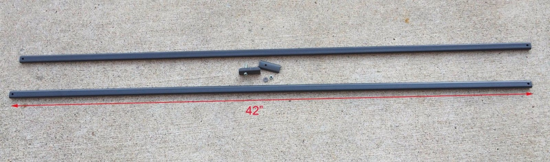 Gray for Coleman 12 x 12 Canopy Gazebo Old Style Side Truss Bar 36 Replacement Parts Repair